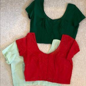 Tops - Choli blouse bundle